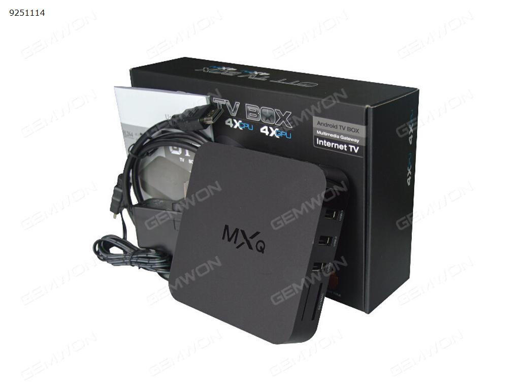 MXQ android TV Box S805 Quad Core 1.5GHz 1GB/8GB 1080P WIFI Black  UK Smart TV Box MXQ