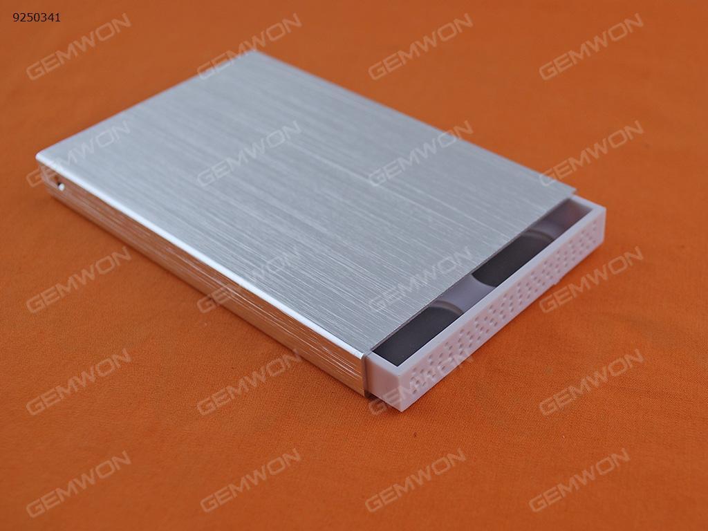 """Lan Shuo 2.5"""" SATA USB 3.0 HDD case Silver Mobile Storage N/A"""