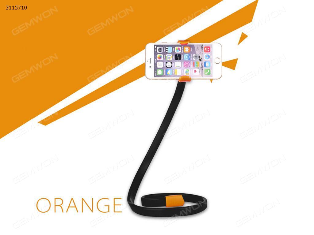 Italian mobile phone stand, Random deformation, BlackITALIAN MOBILE PHONE STAND