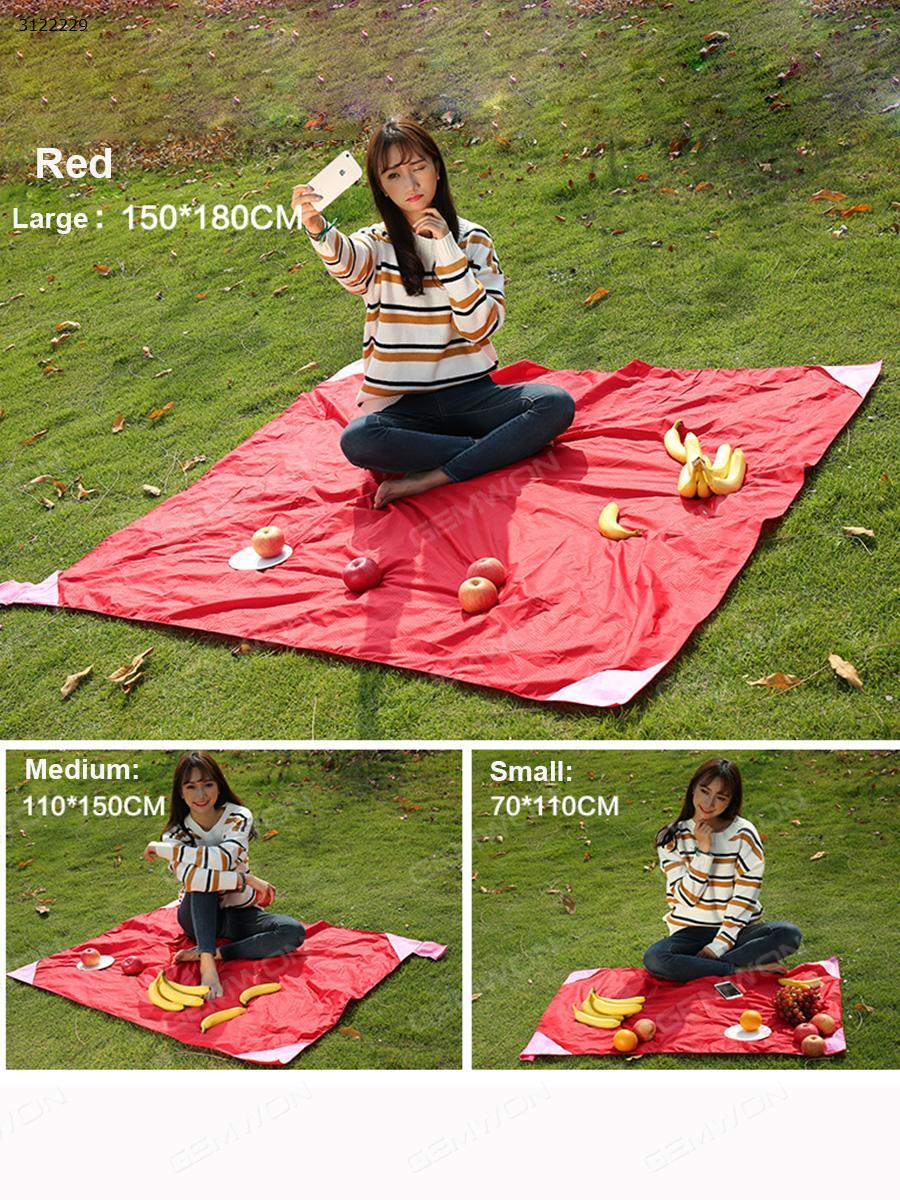 Matador pocket blanket, picnic / beach blanket old version 150cm * 180cm red Camping & Hiking TZ3