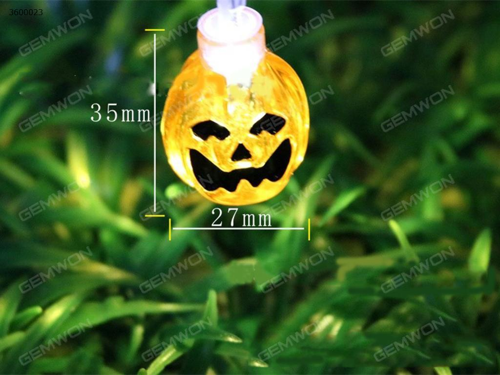 Solar LED Halloween pumpkins(TYNNG)use solar power to charge,it has always bright, flashing two functions.20small pumpkins.warm white Decorative light TYNNG