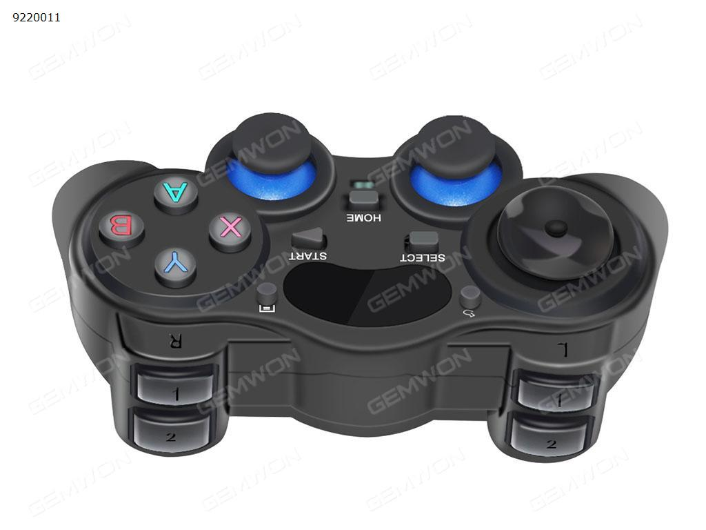 Game controller, wireless 2.4G game controller, support PC and mobile phone and PS3, Android, Vista, TV box portable game joystick handle Game Controller N/A