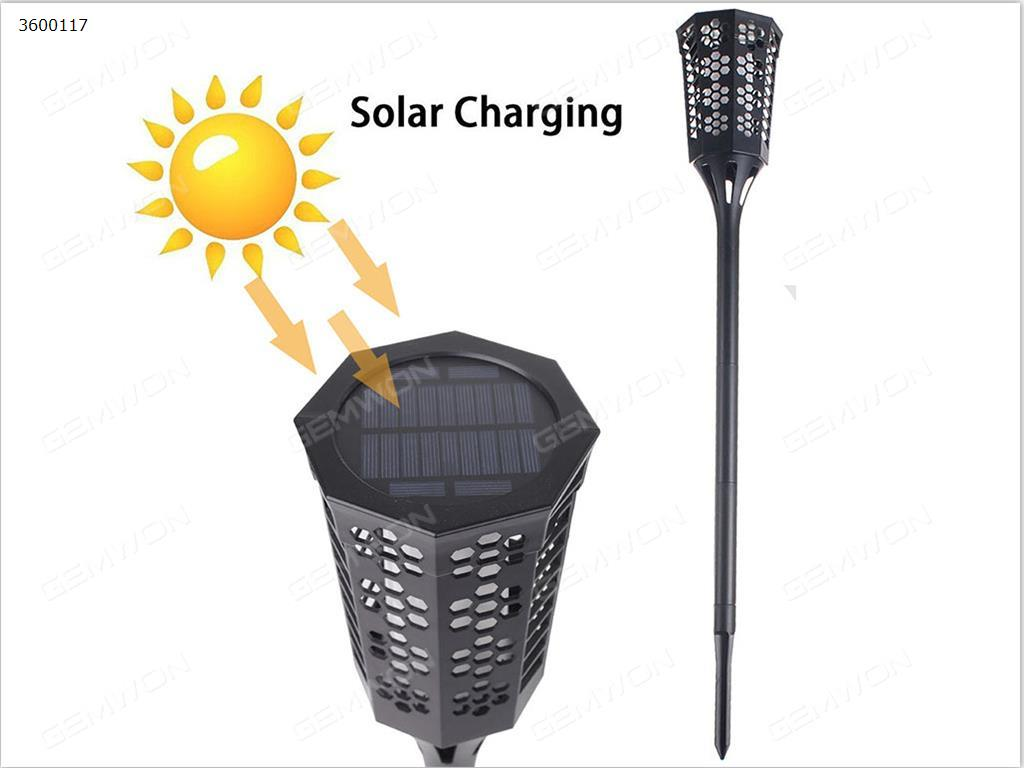 Outdoor solar flames 96LED lawn light(ch-001)rated power 2W, charging six hours, often bright 5 to 8 hours,protection class IP65 Solar Charge CH-001