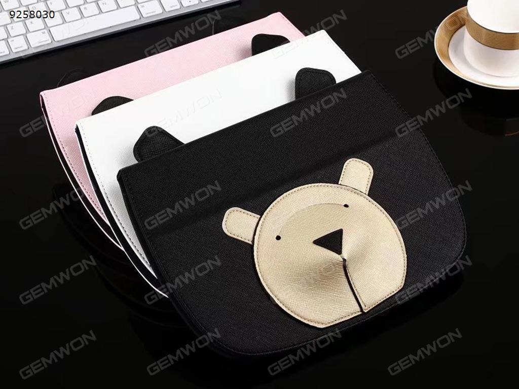 ipad mini1 / 2/3 cartoon stereo bear earphone bag protection holster (pink) Case MINI123