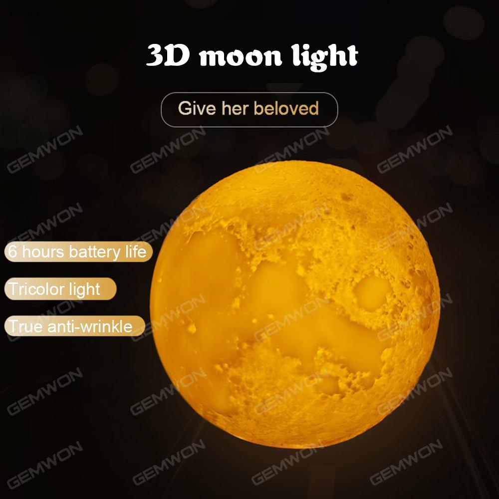 Creative 3D Moon Light Night Light(Ml120)Diameter Of 12 Cm,Two ...