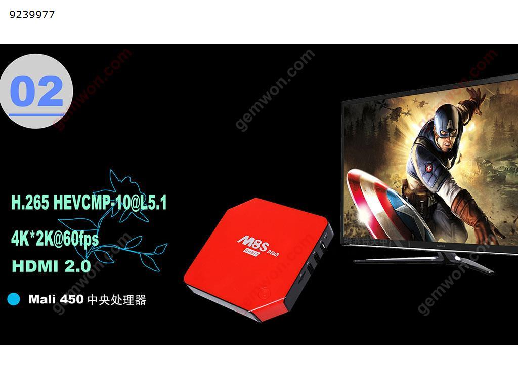 M8s Plus 64 Bit Amlogic S905 Android 5 1 2G/16G Smart Tv Box