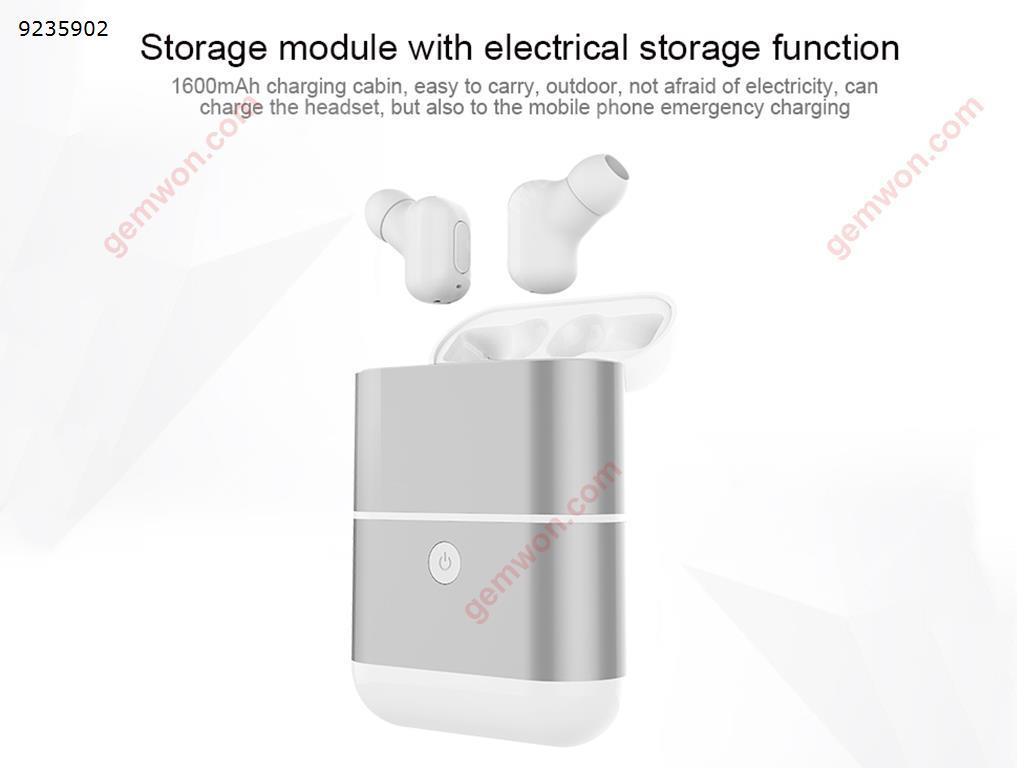 QCY T1 PRO TWS Dual Bluetooth Earphones IPX4 Waterproof Headphones with Charging Box Headset TWS-T1
