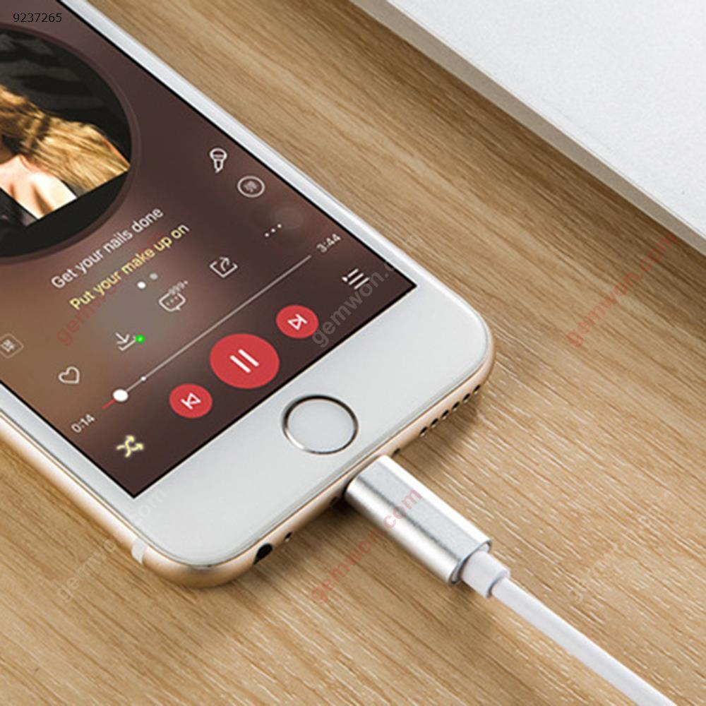 iPhone Lightning audio cable. Speaker aux cable Charger & Data Cable G52801