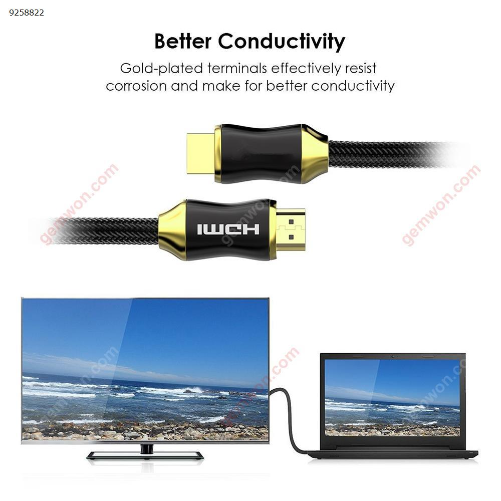 HDMI Cable HDMI to HDMI cable HDMI 2.0 4k 3D 60FPS Cable for HD TV LCD Laptop PS3 Projector Computer Cable 2m Charger & Data Cable CO-HD201