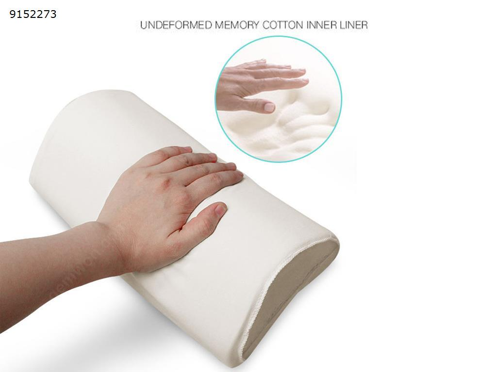 Car head pillow space memory cotton tissue box car pillow car shock neck pillow-gray Autocar Decorations papa