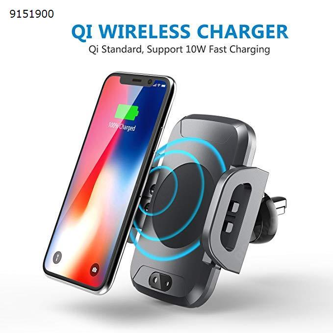 Automatic Wireless Car Charger with Phone Holder 10W Fast Wireless Charging Car Appliances C2