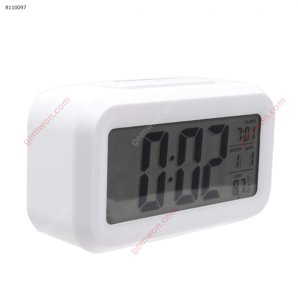 Smart Clock Korean Version Of The Silent Luminous Small Alarm Clock