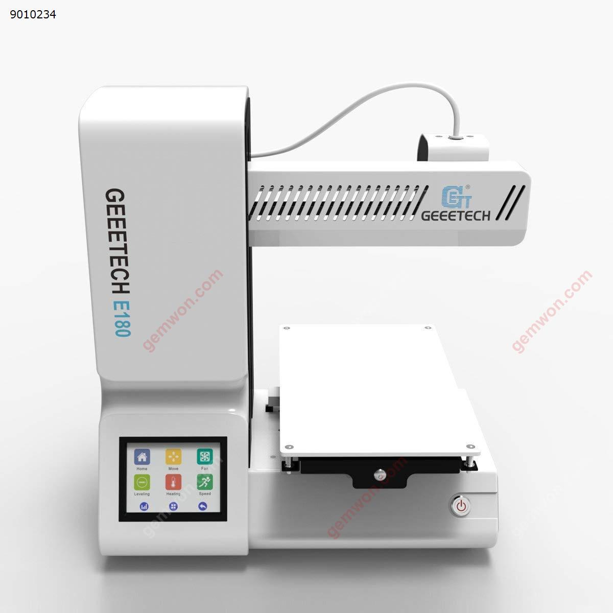 Geeetech 3D printer E180 desktop full color touch screen 3D printer E180