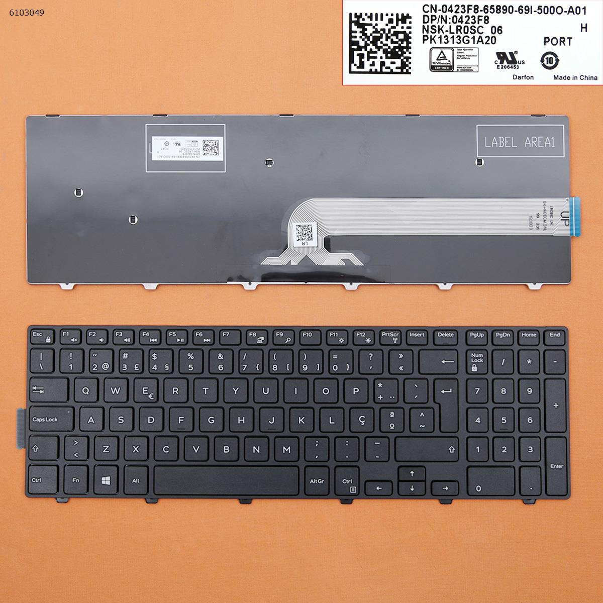 New Keyboard for HP CQ42 BLACK OEM(Small Enter)V113662AK1 SP
