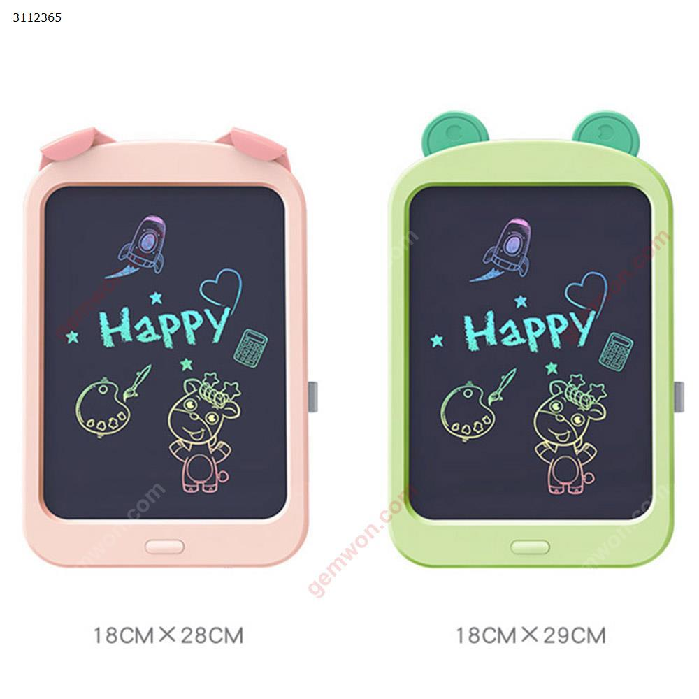 8.8 inches Intelligent writing LCD handwriting board, graffiti painting toy color board drawing board,pink LCD Writing Board 8.8 INCHES LCD GRAFFITI BOARD