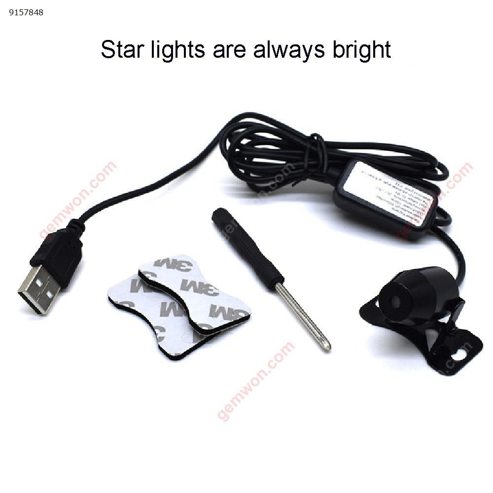 Car star light interior modification car roof light starry projection sound control atmosphere lamp Autocar Decorations K8