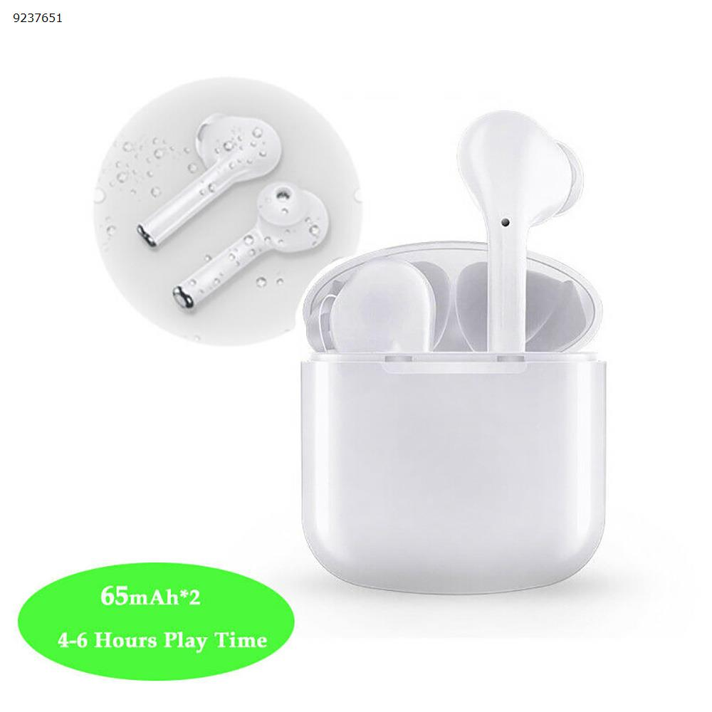 I9X TWS Wireless Bluetooth Earbuds Earphone For iPhone IOS Android Headphone White Headset I9X