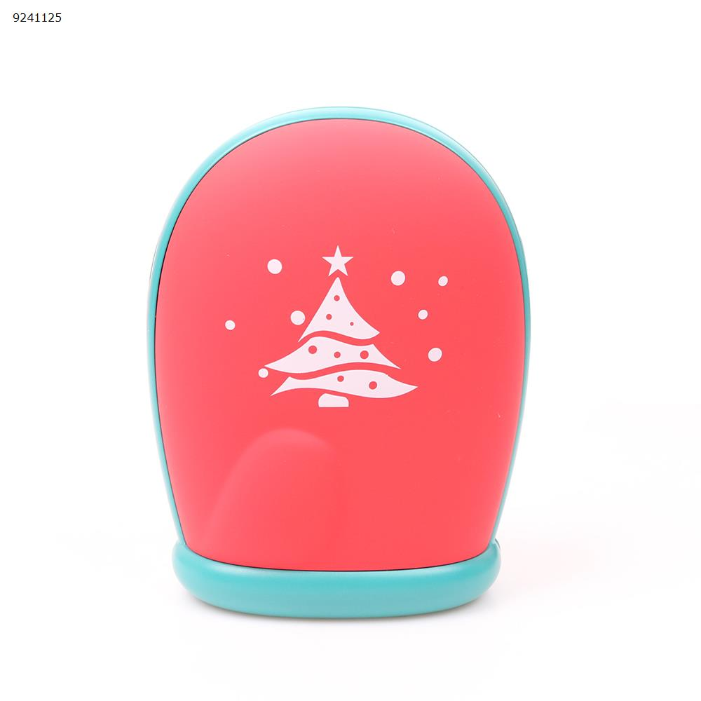 Winter Christmas Gloves Warm Hand USB Mini Portable Recharge Mobile Power(8000 mAh) red Electronic Digital N/A