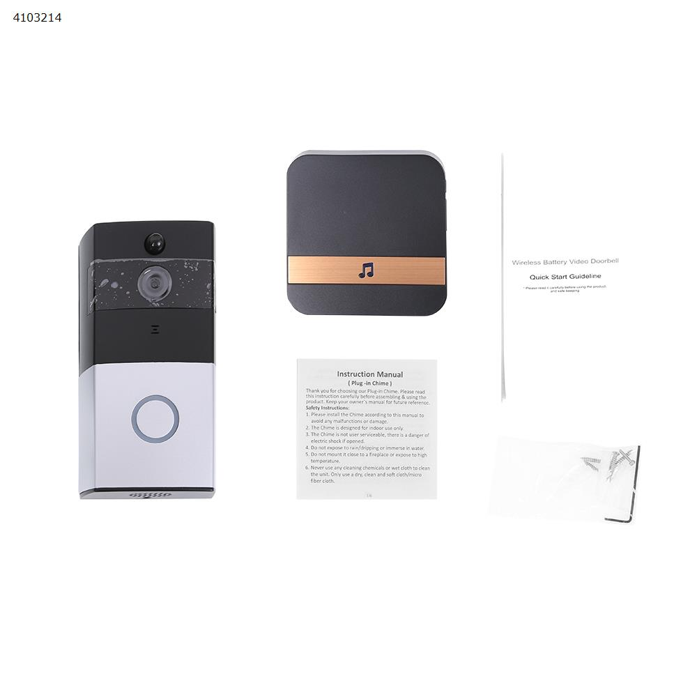 M1 pro Smart Wireless Phone Door Bell Camera WiFi Smart Video Intercom Ring Doorbell UK IP Cameras M1 PRO