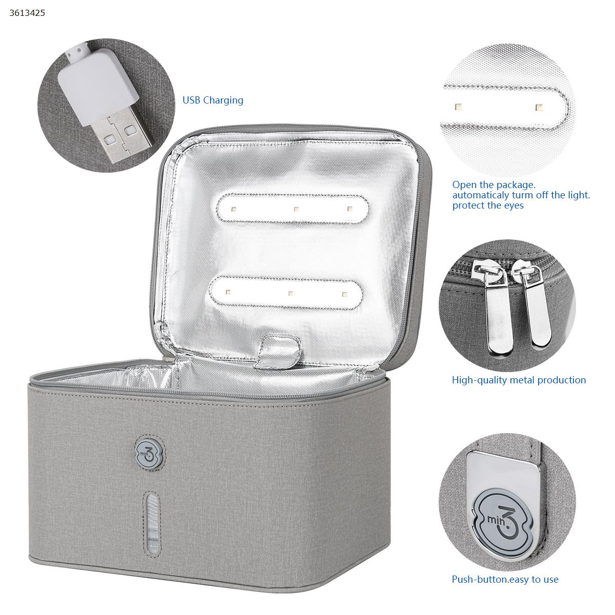 Simple sterilizer Kit, 12 UVC  lamp beads, Gray Health monitoring N/A