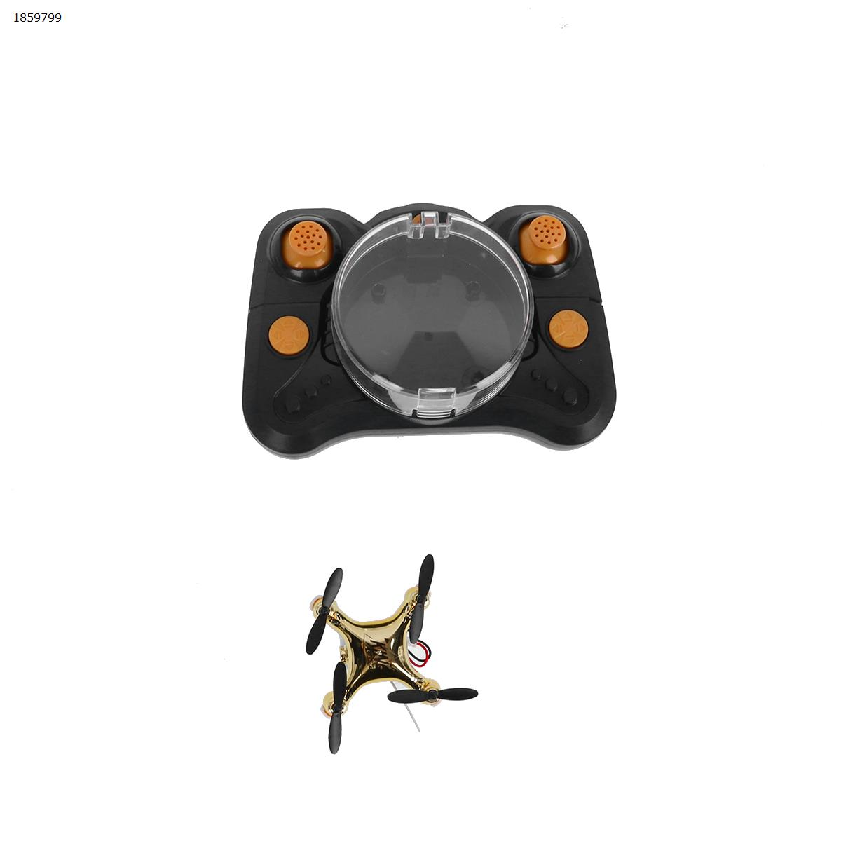 CF-922 Mini Drone 2.4G 4CH 6-Axis 3D Flip Headless Mode Mini Racing Drone Airplane Boy Toy ( Aerial Golden) Drone N/A
