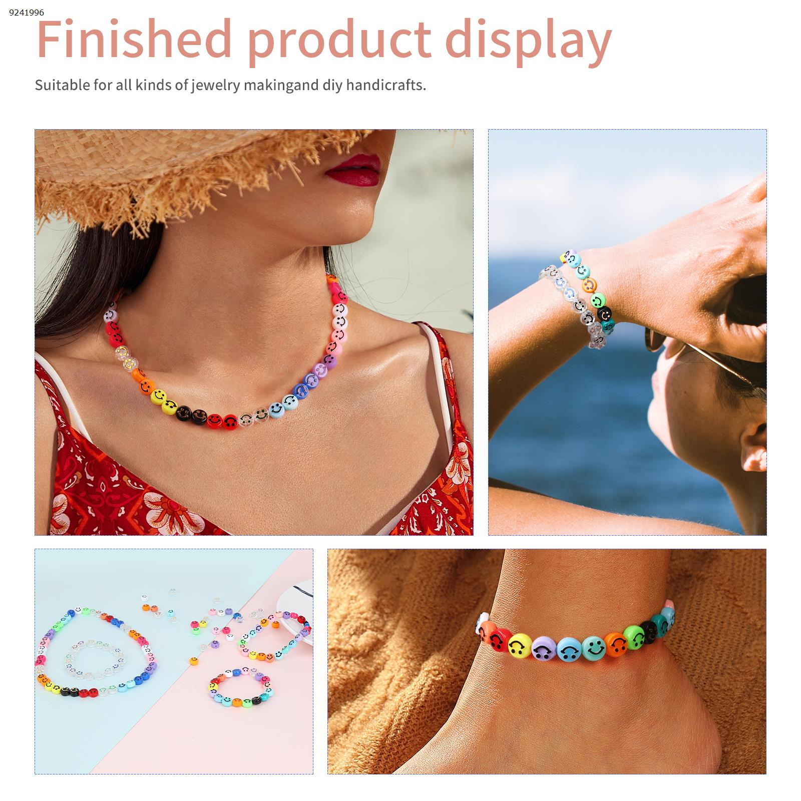 DIY accessories     200 beads + 1 plate 5m long line (1mm) Other N/A
